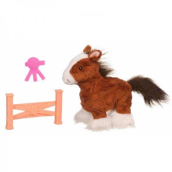 Купить Игрушка Ходячие ласковые зверята FurReal Friends - Пони Whisper Moon (Hasbro) в интернет магазине игрушек и детских товаров