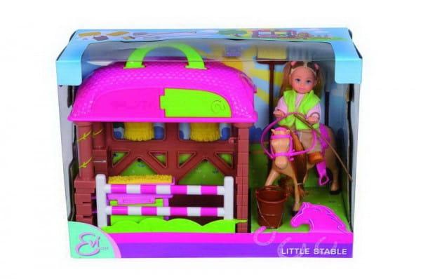 Игровой набор Evi Еви с лошадкой (Simba)