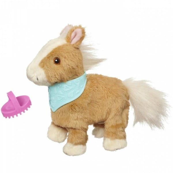 Купить Игрушка Ходячие ласковые зверята FurReal Friends - Пони Shimmer Sky (Hasbro) в интернет магазине игрушек и детских товаров