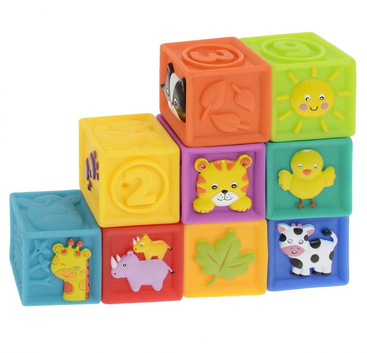Мягкие кубики LITTLE HERO - Развивающие центры и игрушки