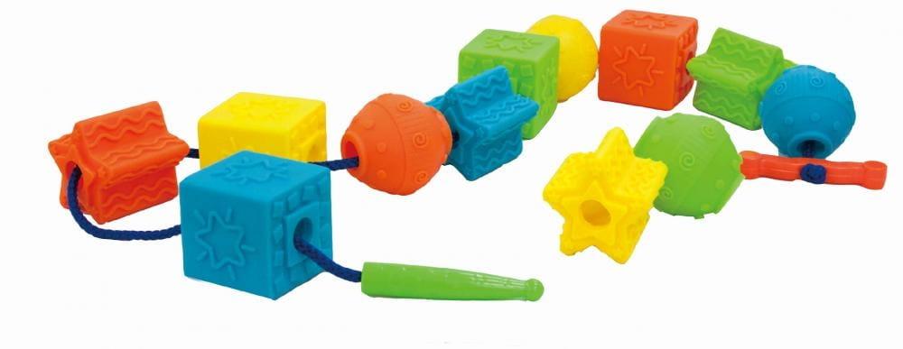 Шнуровка LITTLE HERO Гигантские бусы - Развивающие центры и игрушки