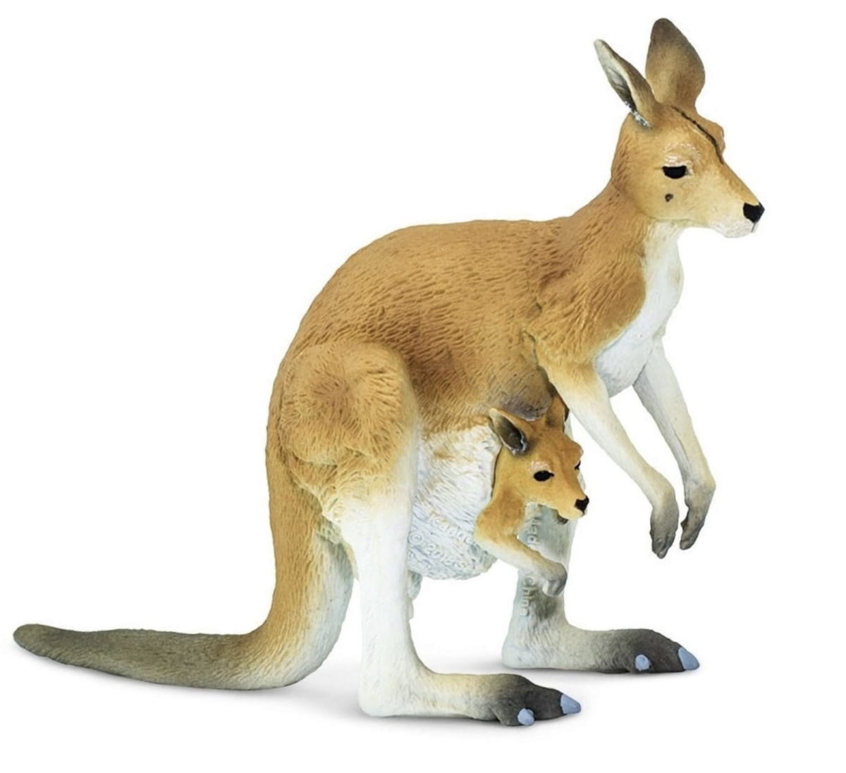 Фигурка SAFARI Кенгуру с детенышем - Фигурки животных