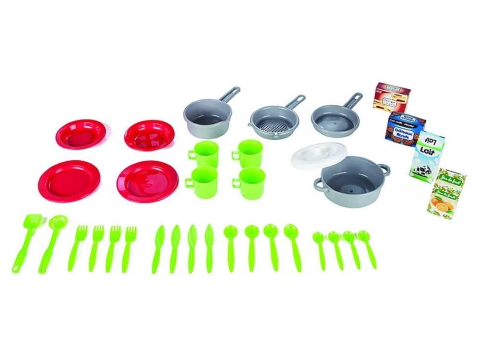 Набор детской посуды в корзине PILSAN Picnic - Все для юной хозяйки