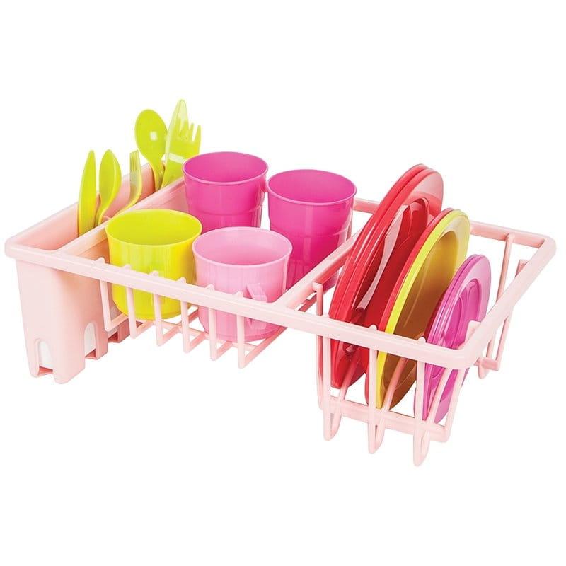 Набор посуды PILSAN с подставкой - Все для юной хозяйки