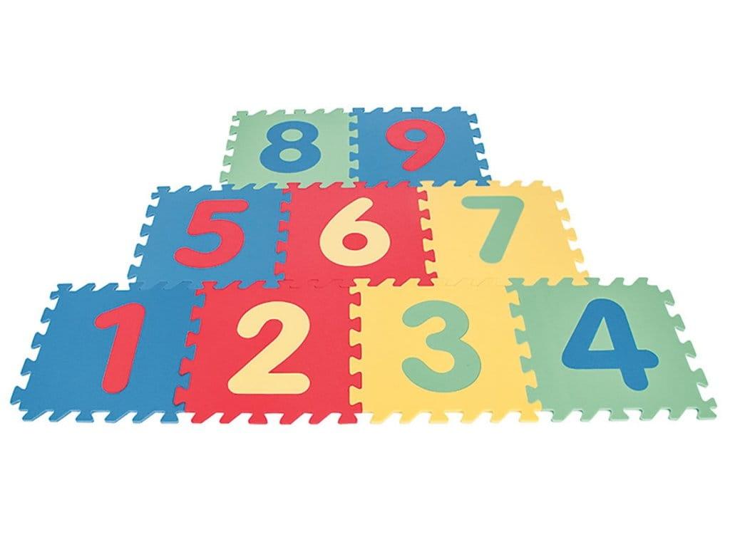 Игровой коврик PILSAN с цифрами - Развивающие коврики