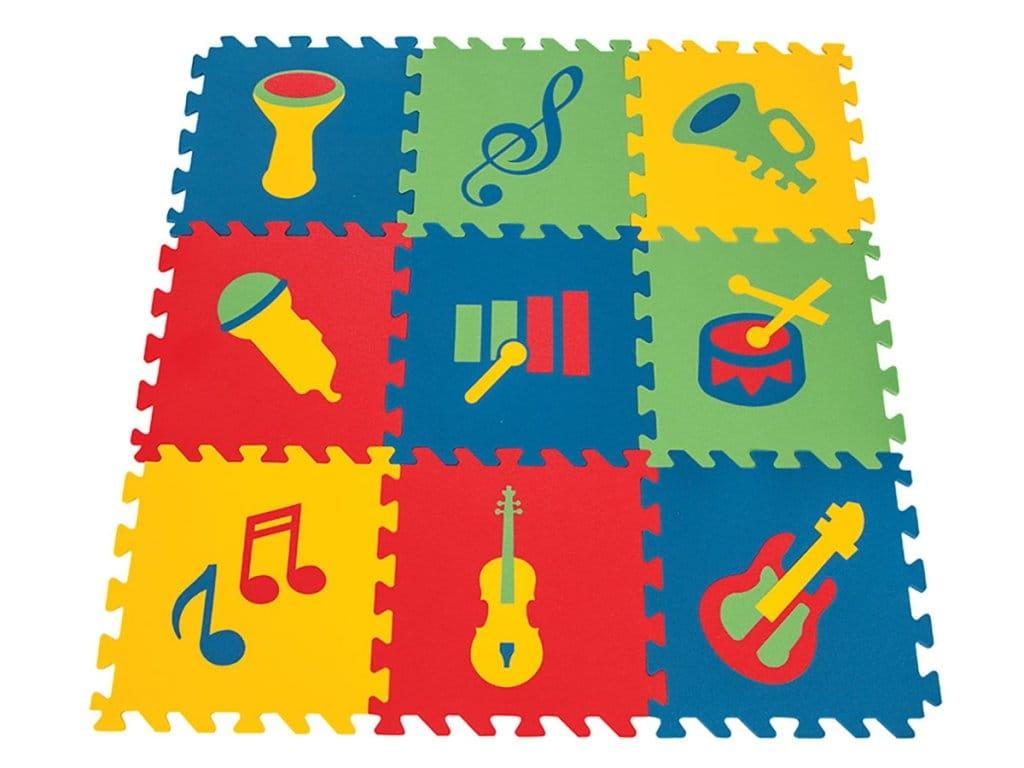 Игровой коврик PILSAN с музыкальными символами - Развивающие коврики