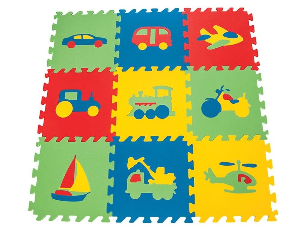 Игровой коврик PILSAN с транспортом - Развивающие коврики