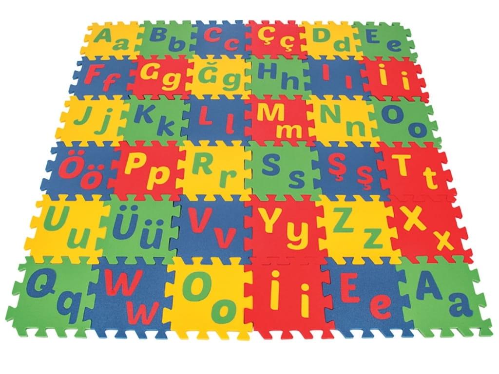 Игровой коврик PILSAN Poly alphabet mint tile - Развивающие коврики