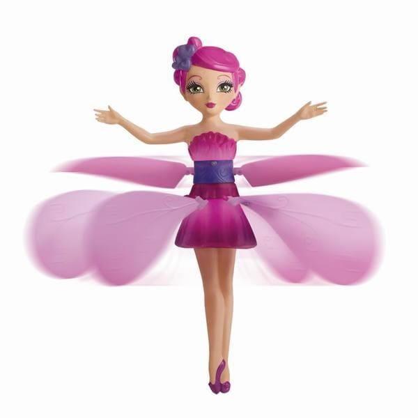Купить Летающая фея, парящая в воздухе - Принцесса эльфов (розовая) в интернет магазине игрушек и детских товаров