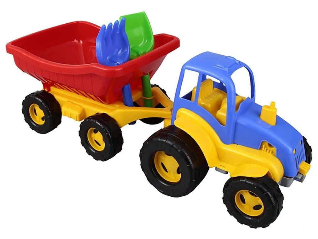 Трактор PILSAN с прицепом