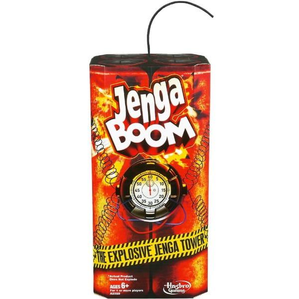Настольная игра Hasbro Дженга Бум (Jenga Boom)