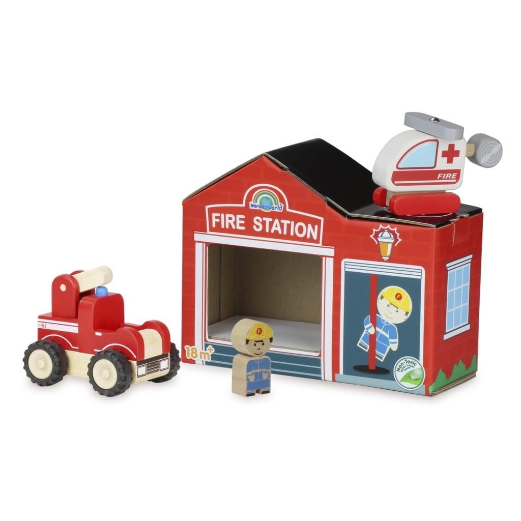 Игровой набор WONDERWORLD Чудо пожарные - Игровые наборы для мальчиков
