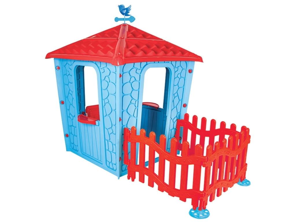 Игровой домик с оградой PILSAN Stone - Игровые домики и палатки