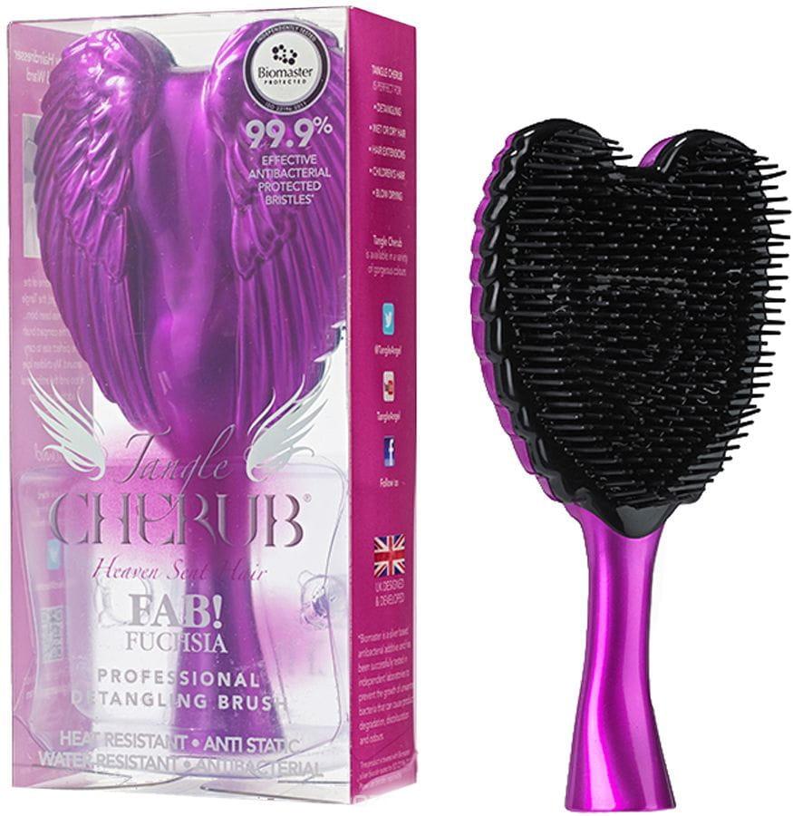 Расческа TANGLE Cherub Fab Fuchsia - Уход за волосами