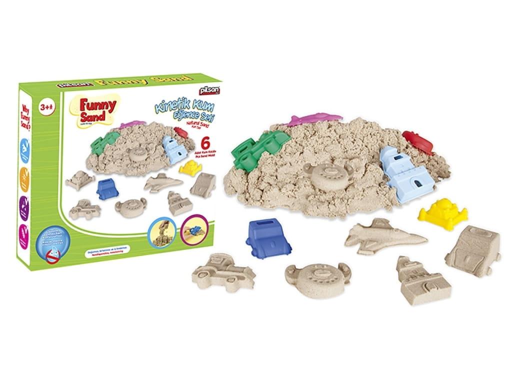 Игровой набор PILSAN Super Sand с формами - Наборы для творчества