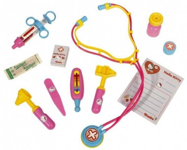 Купить Набор доктора Hello Kitty (Simba) в интернет магазине игрушек и детских товаров