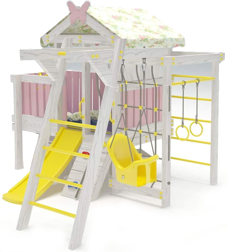 Игровой комплекс для дома HOTENOK Домик со спальным местом 11 в 1 (версия 2) - Детская мебель