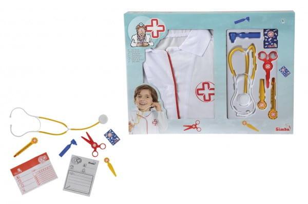 Купить Набор доктора Simba с халатом в интернет магазине игрушек и детских товаров