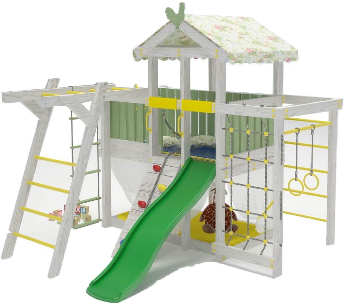 Игровой комплекс-кровать HOTENOK 12 в 1 - Детская мебель