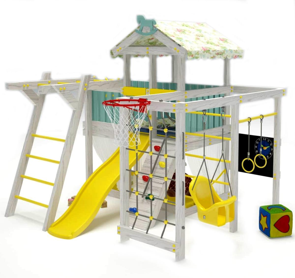 Игровой комплекс-кровать HOTENOK 15 в 1 - Детская мебель