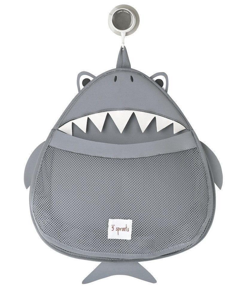 Органайзер для ванной 3 SPROUTS Серая акула Grey Shark - Развивающие центры и игрушки
