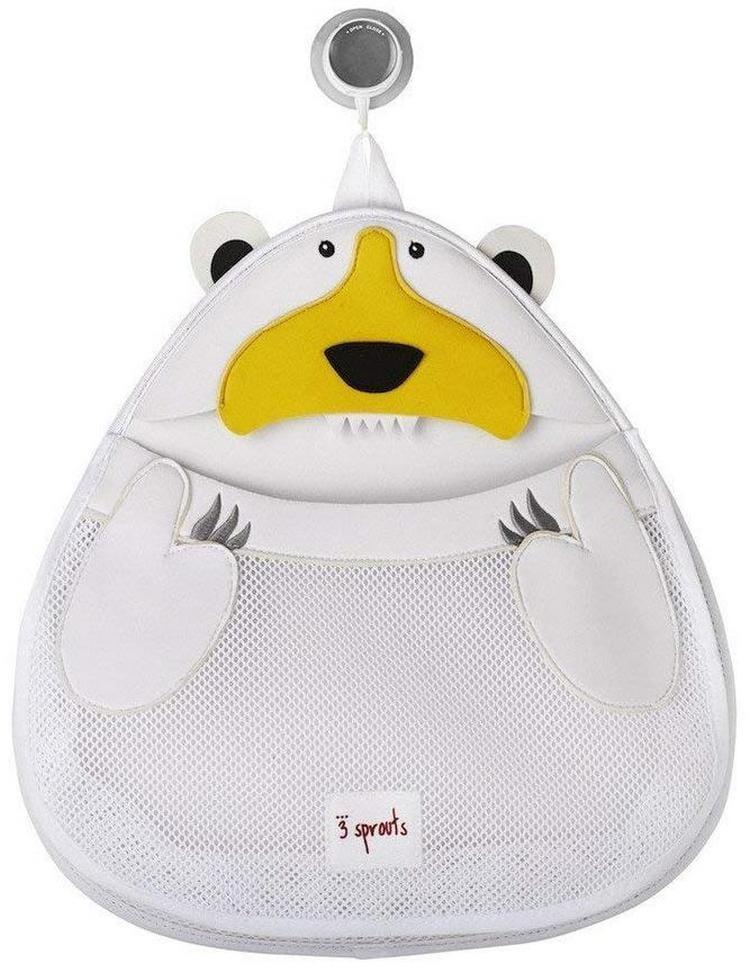 Органайзер для ванной 3 SPROUTS Белый мишка White Polar bear - Развивающие центры и игрушки