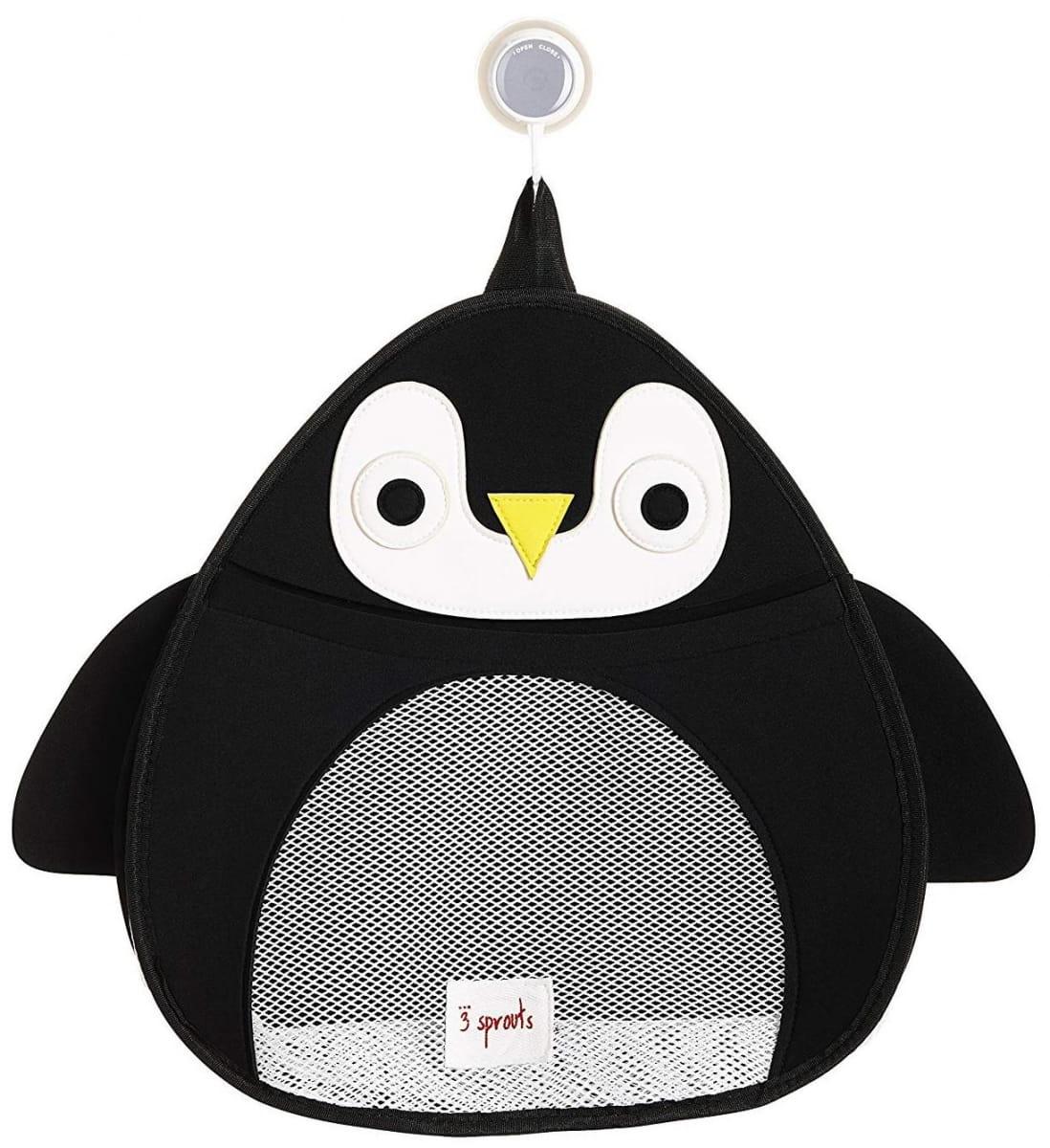 Органайзер для ванной 3 SPROUTS Черный пингвин Black Penguin - Развивающие центры и игрушки