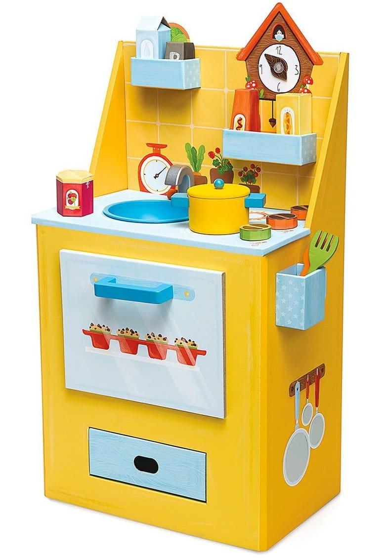 Кухня шеф-повара из картона KROOOM Шафрана - Детские кухни