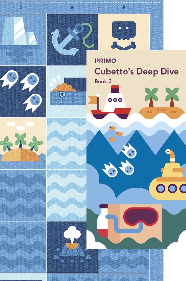 Карта для путешествий PRIMO TOYS Океан Ocean - Развивающие игры