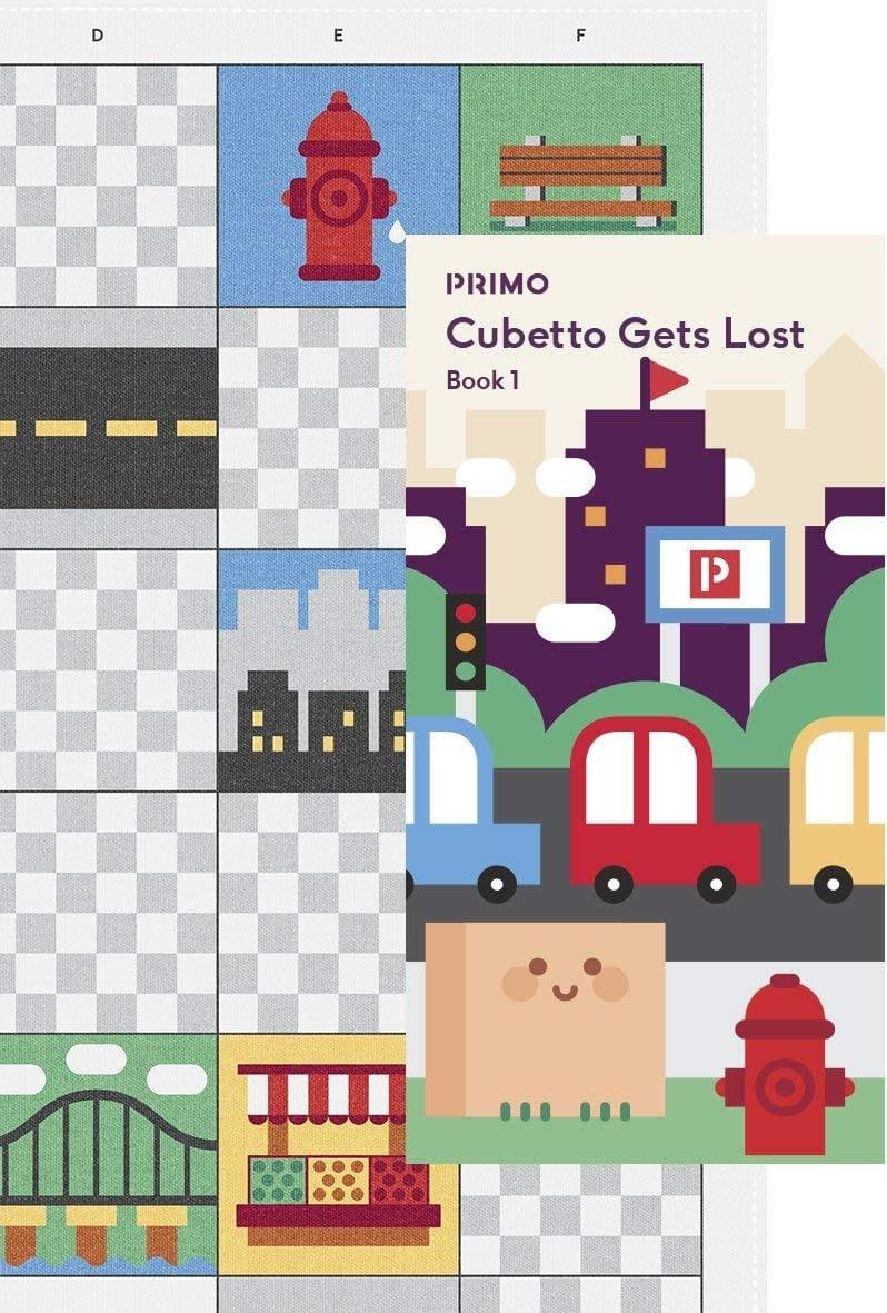 Карта для путешествий PRIMO TOYS Город City - Развивающие игры