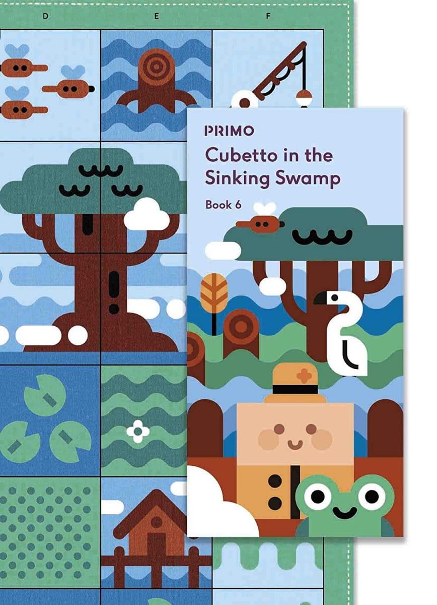 Карта для путешествий PRIMO TOYS Болото Swamp - Развивающие игры