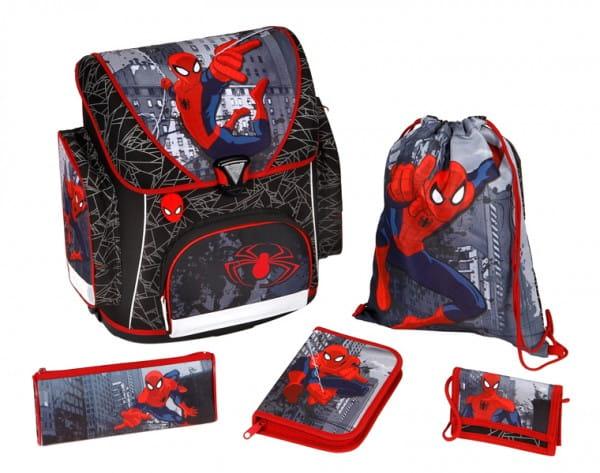 Ранец (рюкзак) с наполнением Scooli Spider-Man Человек-Паук