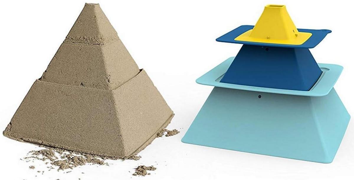 Формочки QUUT для пирамид из песка Pira - Игры на природе