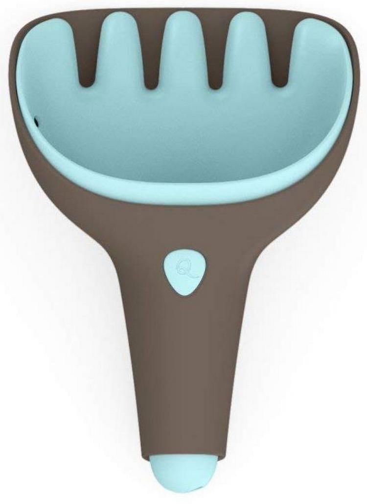 Лопатка и грабельки QUUT Raki  серый банджи, винтажный синий - Игры на природе