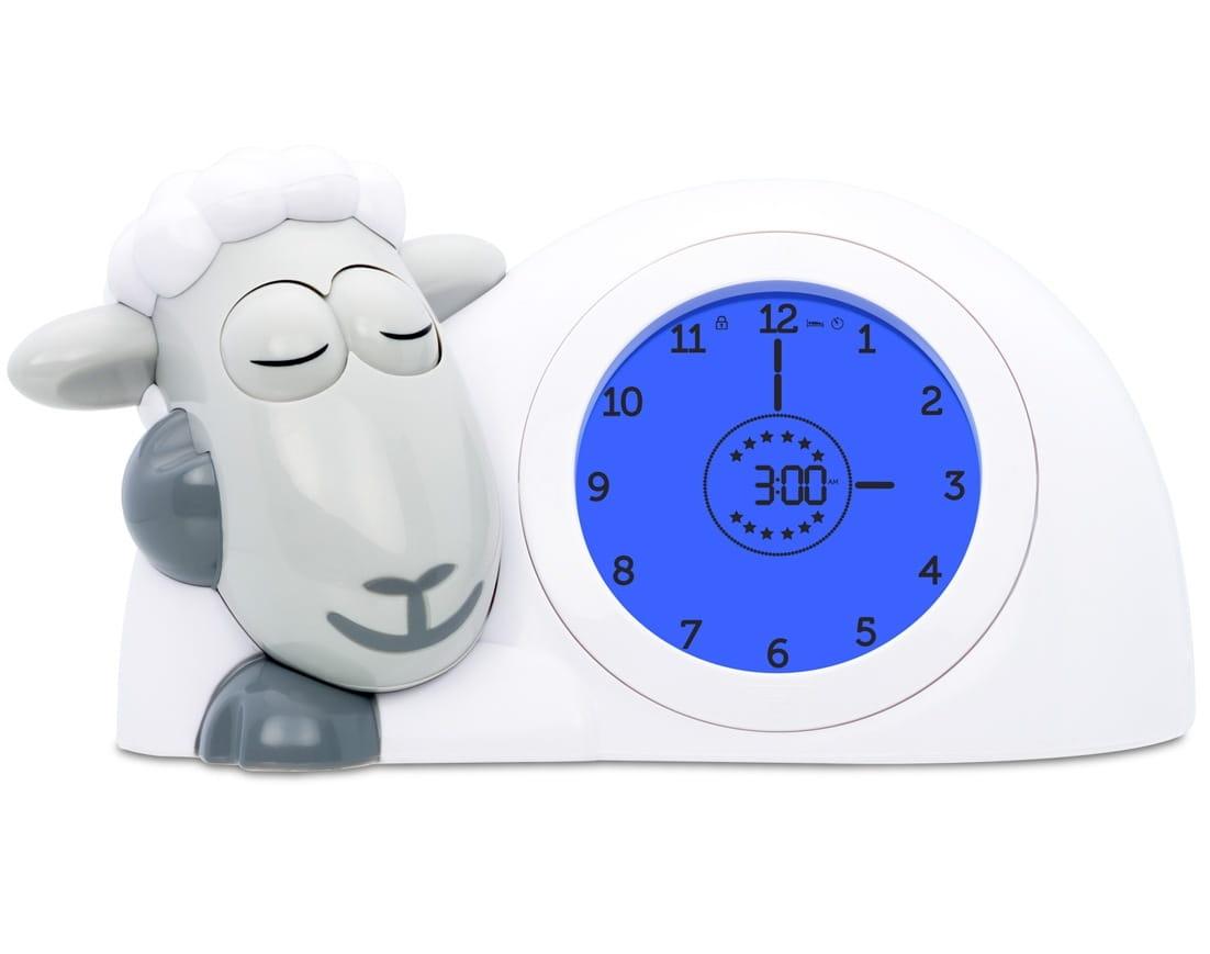 Часы-будильник ZAZU Ягненок Сэм  cерый - Электроника для детей