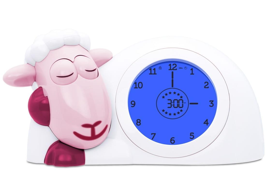 Часы-будильник ZAZU Ягненок Сэм  розовый - Электроника для детей