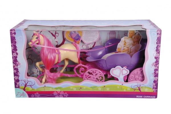 Лошадь с каретой для Steffi Штеффи (Simba)