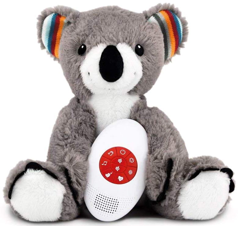 Музыкальная мягкая игрушка-комфортер ZAZU Коко - Развивающие центры и игрушки