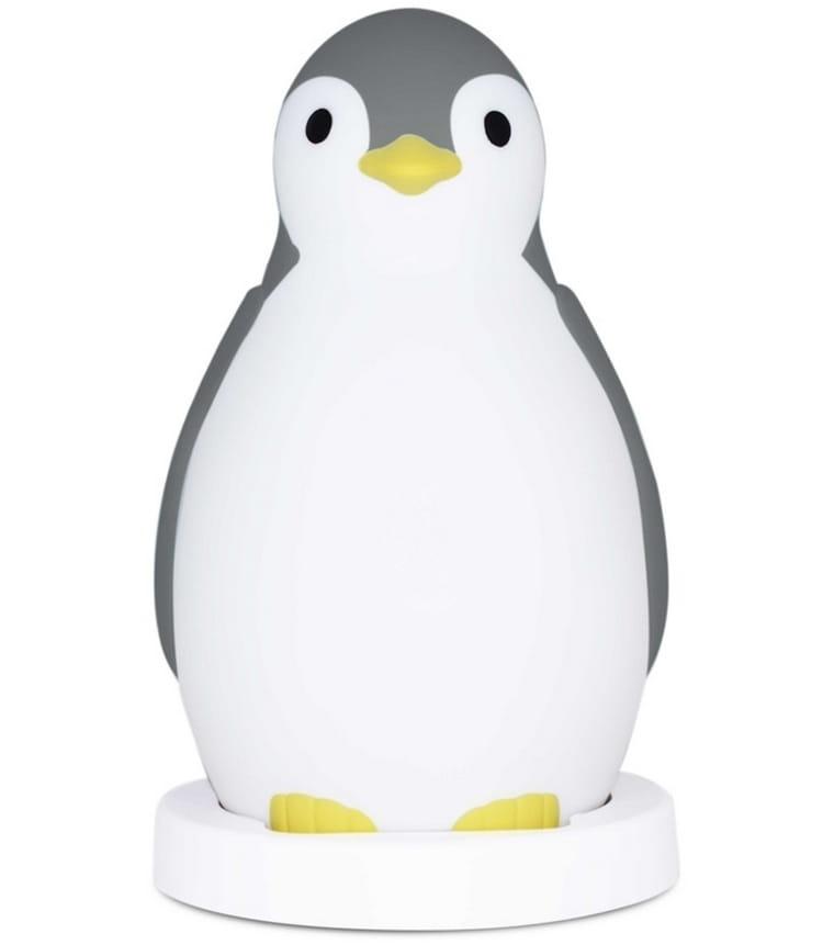 Светильник-ночник ZAZU Пингвиненок Пэм  серый - Ночники