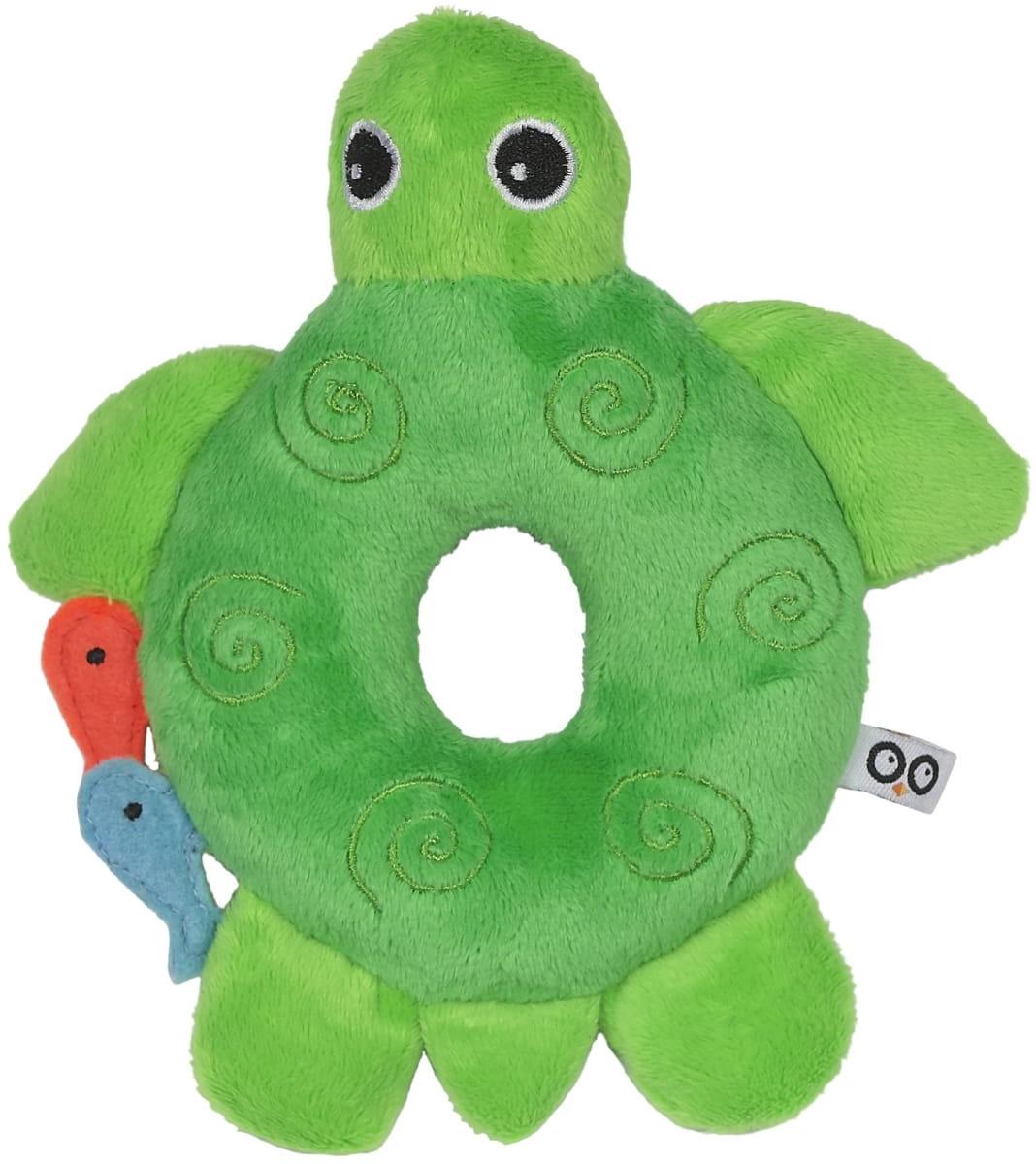 Погремушка ZOOCCHINI Черепашка зеленая - Развивающие центры и игрушки