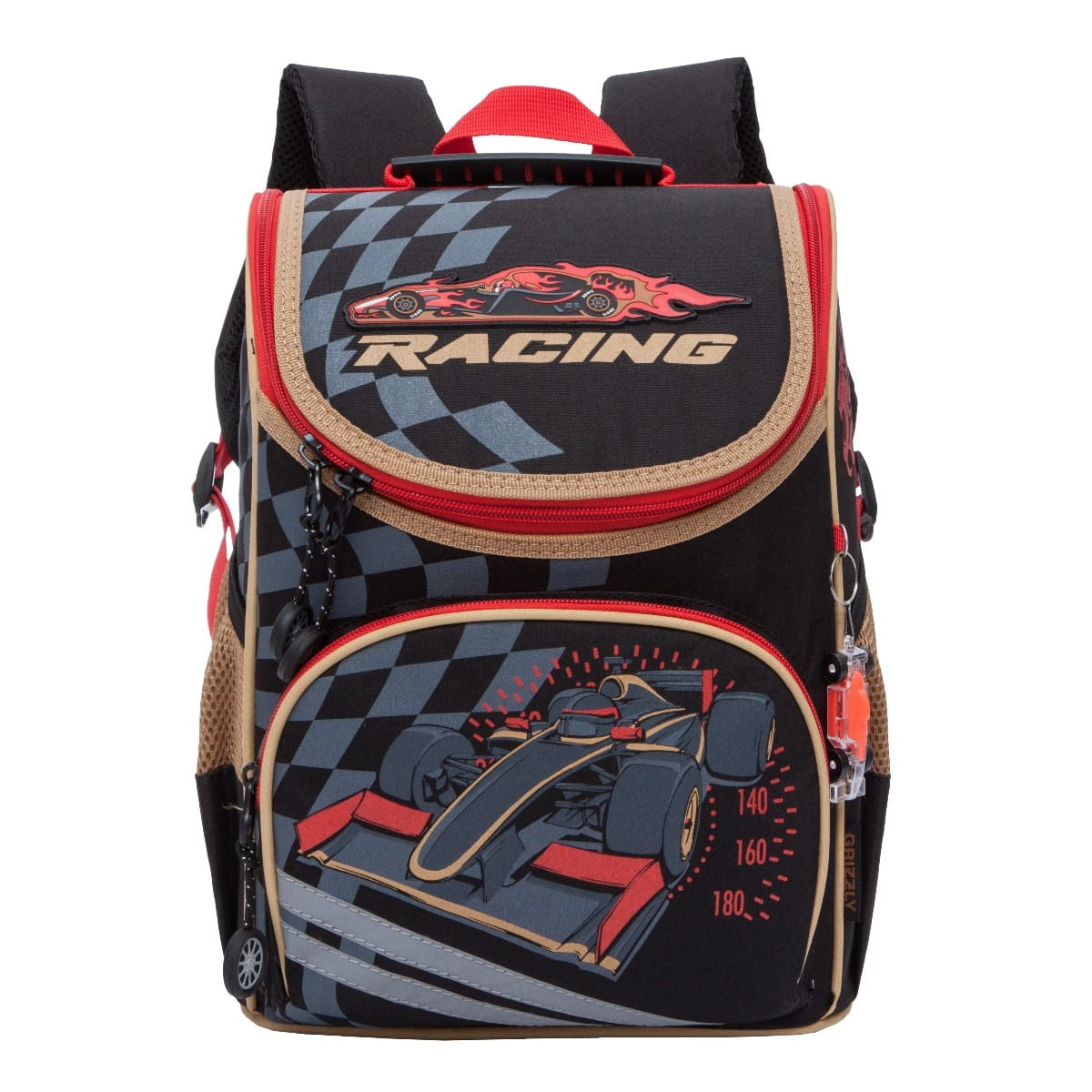 Рюкзак GRIZZLY Формула 1  черный - Рюкзаки и ранцы