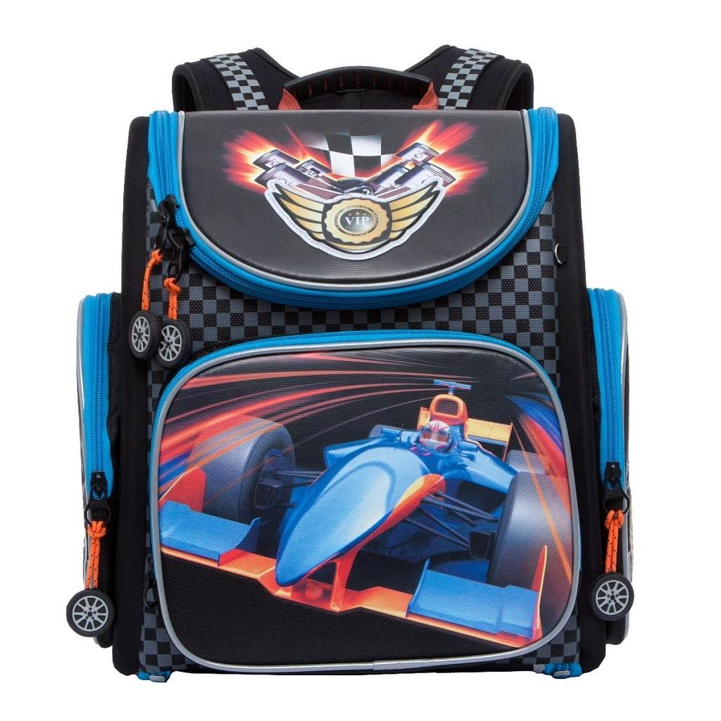 Рюкзак GRIZZLY Формула 1  черный 2 - Рюкзаки и ранцы