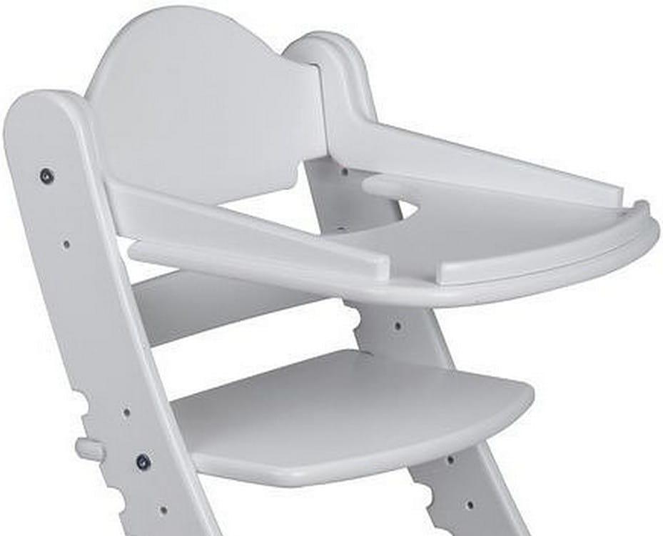 Столик для растущего стула ДВА КОТА  белый - Детская мебель