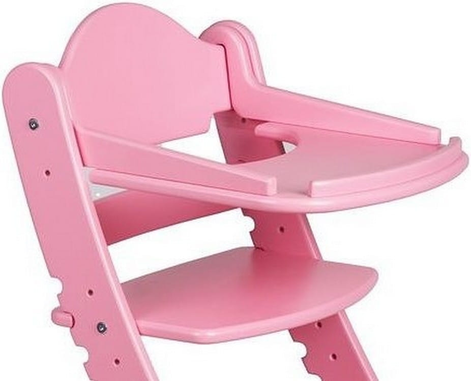 Столик для растущего стула ДВА КОТА  розовый - Детская мебель