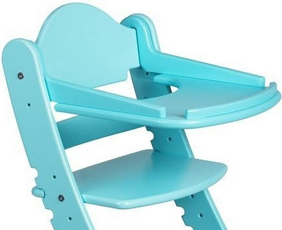 Столик для растущего стула ДВА КОТА  бирюза - Детская мебель