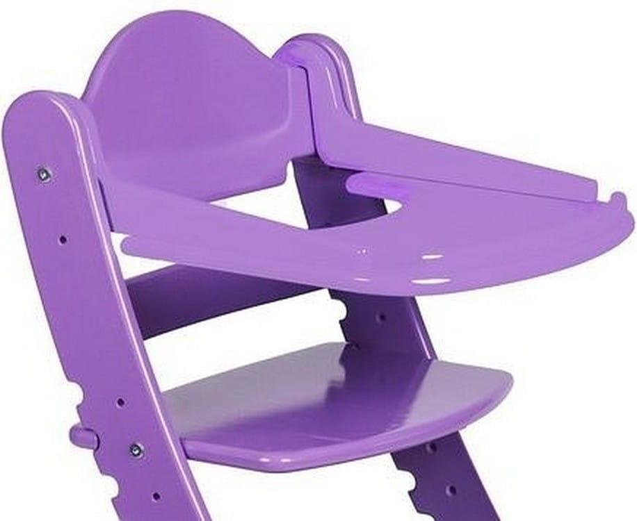 Столик для растущего стула ДВА КОТА  фиолетовый - Детская мебель