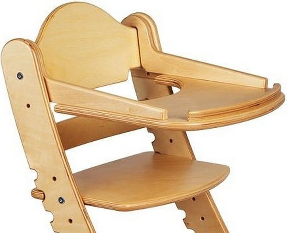 Столик для растущего стула ДВА КОТА  береза - Детская мебель