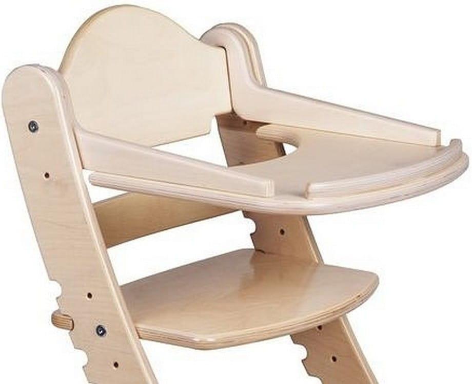 Столик для растущего стула ДВА КОТА  белый дуб - Детская мебель