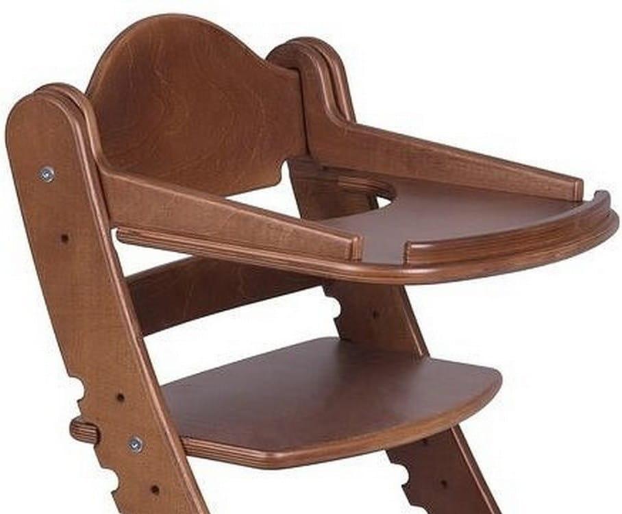 Столик для растущего стула ДВА КОТА  старинный орех - Детская мебель