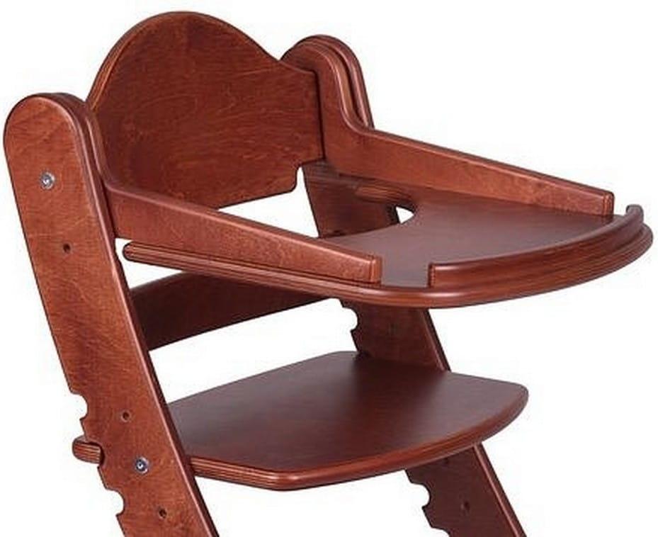 Столик для растущего стула ДВА КОТА  красное дерево - Детская мебель